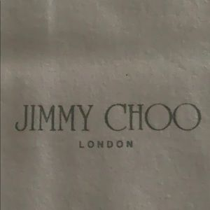 Jimmy Choo London Shoes 👠 Dust Bag in 2 pieces